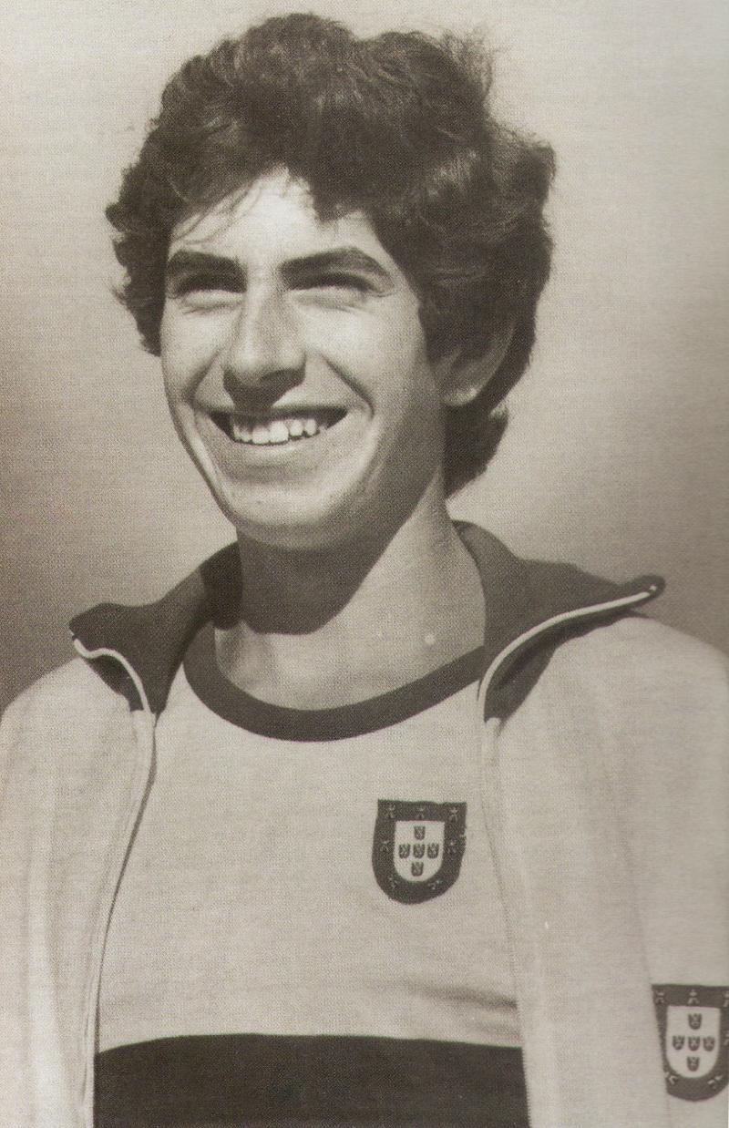 António Leitão, talvez o maior atleta espinhense de todos os tempos
